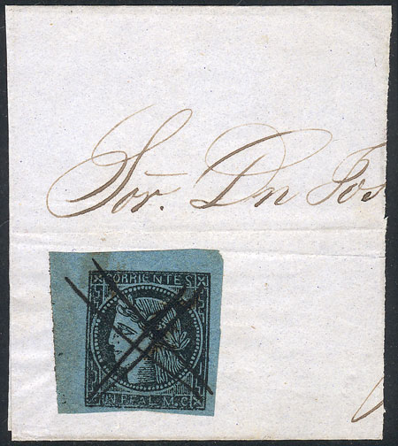 Lot 275 - Argentina corrientes -  Guillermo Jalil - Philatino Auction #1920 WORLDWIDE + ARGENTINA: General May auction