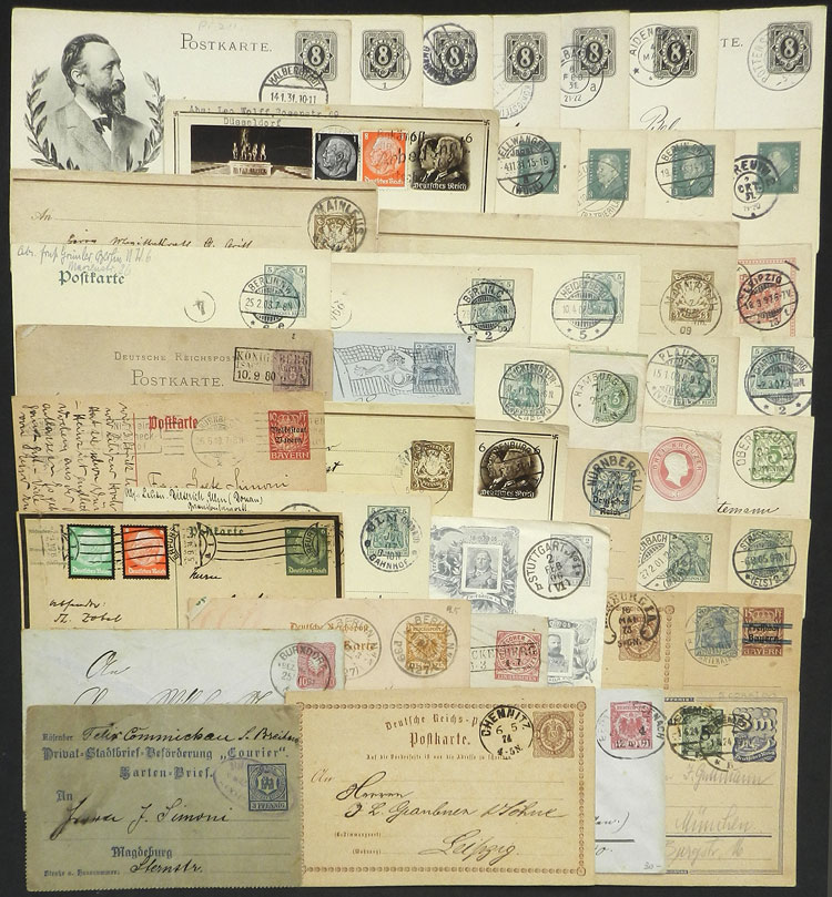 Lot 110 - germany postal history -  Guillermo Jalil - Philatino Auction #1920 WORLDWIDE + ARGENTINA: General May auction