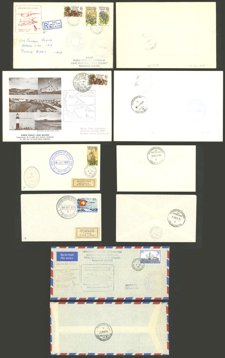 Lot 1259 - falkland islands (malvinas) postal history -  Guillermo Jalil - Philatino Auction #1920 WORLDWIDE + ARGENTINA: General May auction