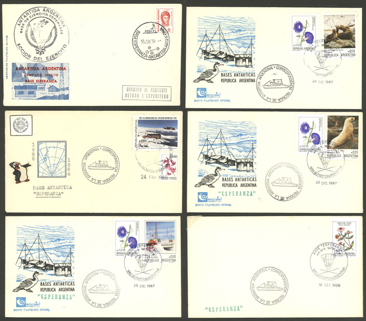 Lot 255 - argentine antarctica postal history -  Guillermo Jalil - Philatino Auction #1920 WORLDWIDE + ARGENTINA: General May auction