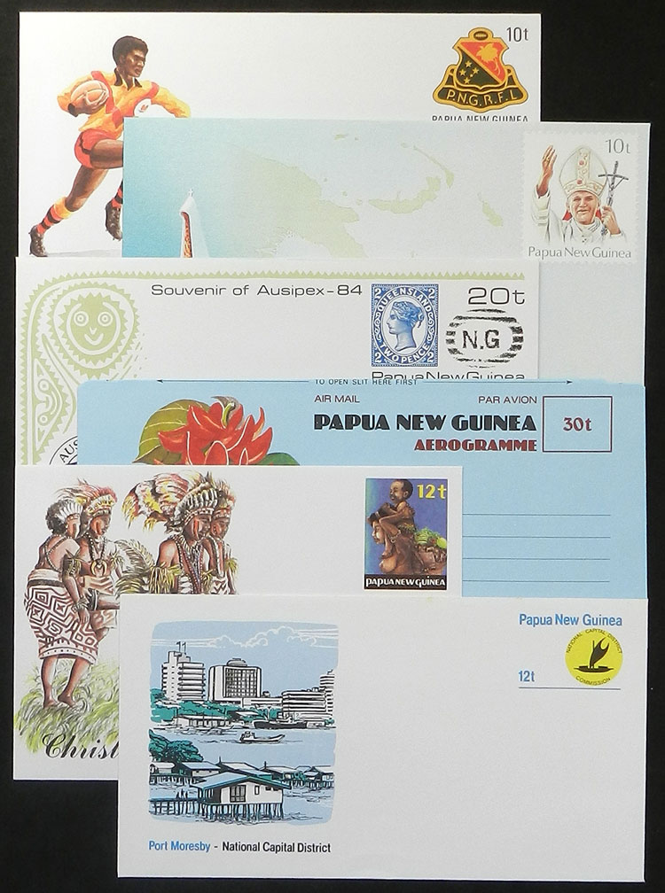 Lot 1295 - papua new guinea Lots and Collections -  Guillermo Jalil - Philatino Auction #1920 WORLDWIDE + ARGENTINA: General May auction