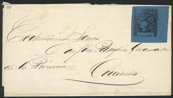 Lot 283 - Argentina corrientes -  Guillermo Jalil - Philatino Auction #1920 WORLDWIDE + ARGENTINA: General May auction