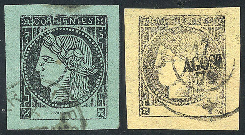 Lot 10 - Argentina corrientes -  Guillermo Jalil - Philatino Auction #1922 ARGENTINA: General auction with very low starts!