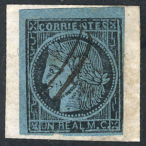 Lot 7 - Argentina corrientes -  Guillermo Jalil - Philatino Auction #1922 ARGENTINA: General auction with very low starts!