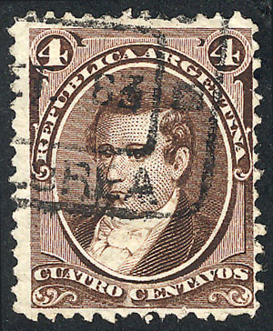 Lot 82 - Argentina general issues -  Guillermo Jalil - Philatino Auction #1922 ARGENTINA: General auction with very low starts!