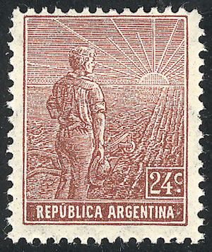 Lot 203 - Argentina general issues -  Guillermo Jalil - Philatino Auction #1922 ARGENTINA: General auction with very low starts!