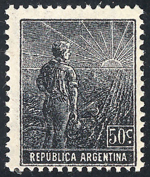 Lot 204 - Argentina general issues -  Guillermo Jalil - Philatino Auction #1922 ARGENTINA: General auction with very low starts!