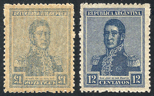 Lot 216 - Argentina general issues -  Guillermo Jalil - Philatino Auction #1922 ARGENTINA: General auction with very low starts!