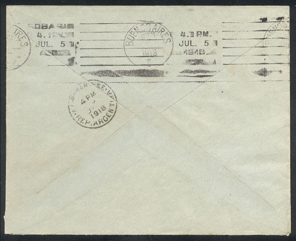 Lot 226 - Argentina general issues -  Guillermo Jalil - Philatino Auction #1922 ARGENTINA: General auction with very low starts!