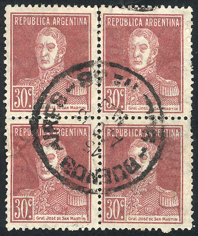 Lot 229 - Argentina general issues -  Guillermo Jalil - Philatino Auction #1922 ARGENTINA: General auction with very low starts!