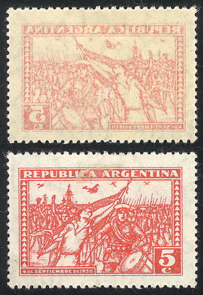 Lot 248 - Argentina general issues -  Guillermo Jalil - Philatino Auction #1922 ARGENTINA: General auction with very low starts!