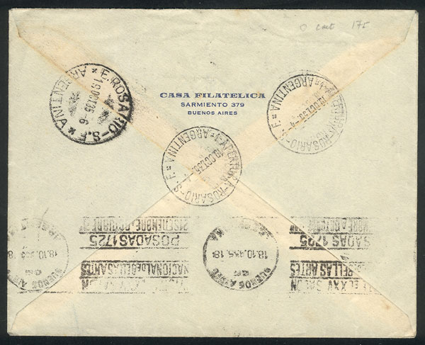 Lot 649 - Argentina souvenir sheets -  Guillermo Jalil - Philatino Auction #1922 ARGENTINA: General auction with very low starts!