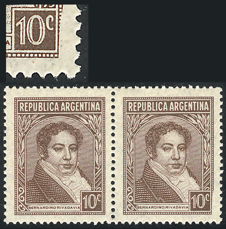 Lot 287 - Argentina general issues -  Guillermo Jalil - Philatino Auction #1922 ARGENTINA: General auction with very low starts!