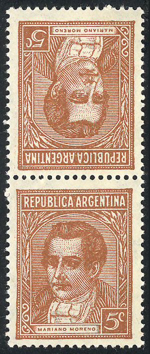 Lot 309 - Argentina general issues -  Guillermo Jalil - Philatino Auction #1922 ARGENTINA: General auction with very low starts!