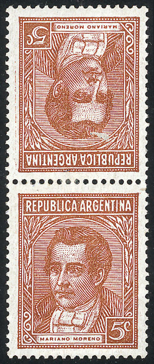 Lot 314 - Argentina general issues -  Guillermo Jalil - Philatino Auction #1922 ARGENTINA: General auction with very low starts!