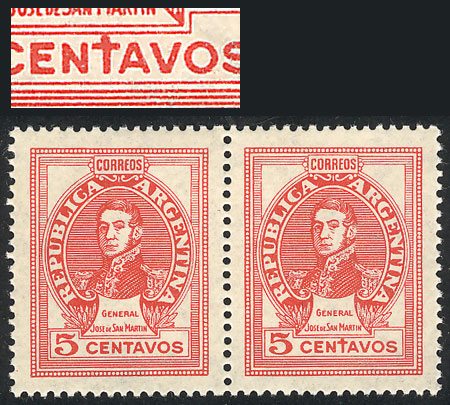 Lot 358 - Argentina general issues -  Guillermo Jalil - Philatino Auction #1922 ARGENTINA: General auction with very low starts!