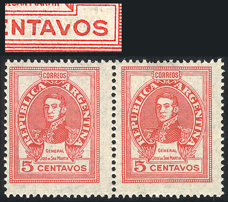 Lot 357 - Argentina general issues -  Guillermo Jalil - Philatino Auction #1922 ARGENTINA: General auction with very low starts!