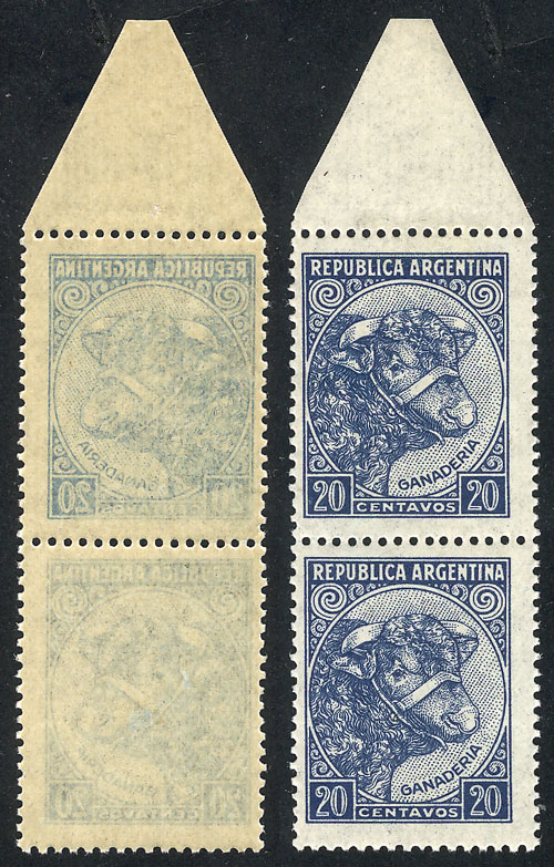 Lot 360 - Argentina general issues -  Guillermo Jalil - Philatino Auction #1922 ARGENTINA: General auction with very low starts!