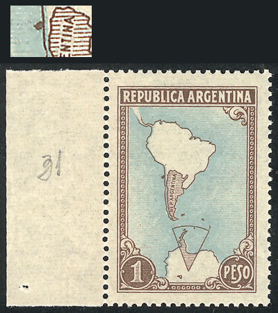 Lot 365 - Argentina general issues -  Guillermo Jalil - Philatino Auction #1922 ARGENTINA: General auction with very low starts!