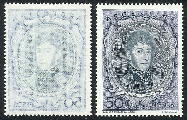 Lot 427 - Argentina general issues -  Guillermo Jalil - Philatino Auction #1922 ARGENTINA: General auction with very low starts!