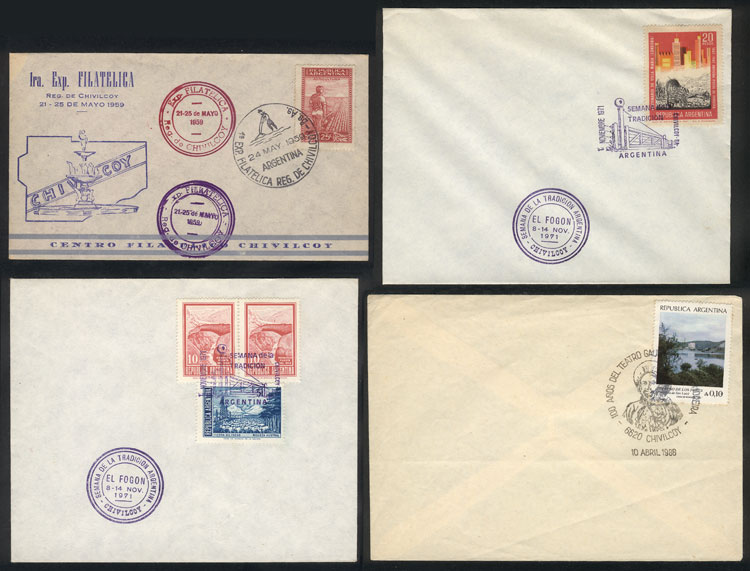 Lot 786 - Argentina postal history -  Guillermo Jalil - Philatino Auction #1922 ARGENTINA: General auction with very low starts!