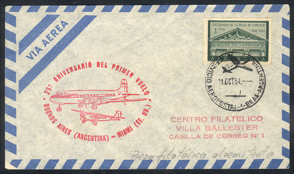 Lot 779 - Argentina postal history -  Guillermo Jalil - Philatino Auction #1922 ARGENTINA: General auction with very low starts!