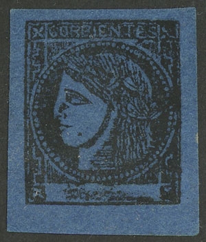 Lot 19 - Argentina corrientes -  Guillermo Jalil - Philatino Auction #1922 ARGENTINA: General auction with very low starts!