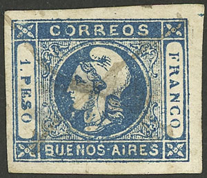 Lot 3 - Argentina buenos aires -  Guillermo Jalil - Philatino Auction #1922 ARGENTINA: General auction with very low starts!