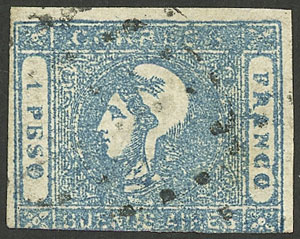 Lot 4 - Argentina buenos aires -  Guillermo Jalil - Philatino Auction #1922 ARGENTINA: General auction with very low starts!