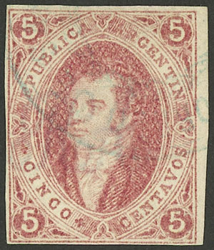 Lot 41 - Argentina rivadavias -  Guillermo Jalil - Philatino Auction #1922 ARGENTINA: General auction with very low starts!