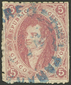 Lot 43 - Argentina rivadavias -  Guillermo Jalil - Philatino Auction #1922 ARGENTINA: General auction with very low starts!