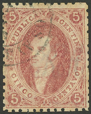 Lot 48 - Argentina rivadavias -  Guillermo Jalil - Philatino Auction #1922 ARGENTINA: General auction with very low starts!