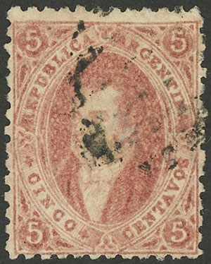 Lot 47 - Argentina rivadavias -  Guillermo Jalil - Philatino Auction #1922 ARGENTINA: General auction with very low starts!