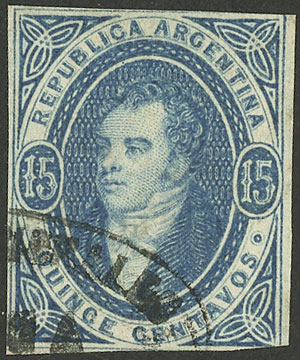 Lot 51 - Argentina rivadavias -  Guillermo Jalil - Philatino Auction #1922 ARGENTINA: General auction with very low starts!