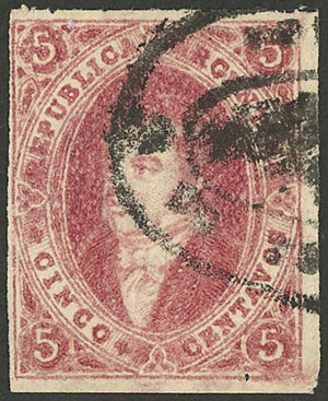 Lot 64 - Argentina rivadavias -  Guillermo Jalil - Philatino Auction #1922 ARGENTINA: General auction with very low starts!