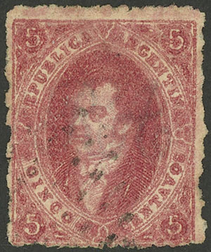 Lot 65 - Argentina rivadavias -  Guillermo Jalil - Philatino Auction #1922 ARGENTINA: General auction with very low starts!