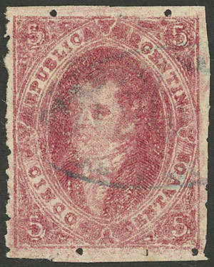 Lot 66 - Argentina rivadavias -  Guillermo Jalil - Philatino Auction #1922 ARGENTINA: General auction with very low starts!