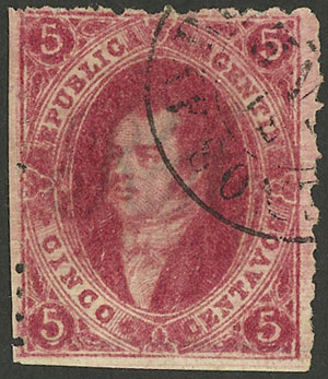 Lot 75 - Argentina rivadavias -  Guillermo Jalil - Philatino Auction #1922 ARGENTINA: General auction with very low starts!