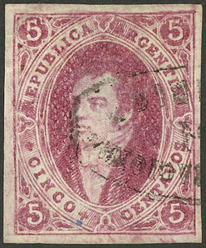 Lot 78 - Argentina rivadavias -  Guillermo Jalil - Philatino Auction #1922 ARGENTINA: General auction with very low starts!