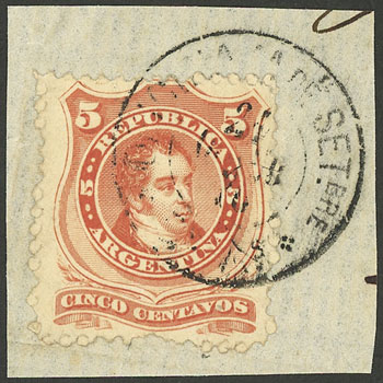 Lot 101 - Argentina general issues -  Guillermo Jalil - Philatino Auction #1922 ARGENTINA: General auction with very low starts!