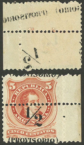 Lot 141 - Argentina general issues -  Guillermo Jalil - Philatino Auction #1922 ARGENTINA: General auction with very low starts!