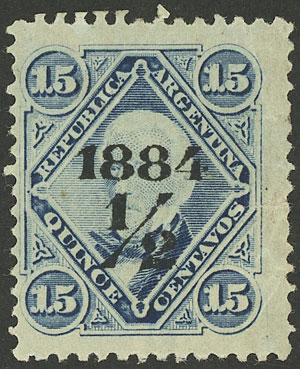 Lot 143 - Argentina general issues -  Guillermo Jalil - Philatino Auction #1922 ARGENTINA: General auction with very low starts!