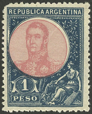 Lot 184 - Argentina general issues -  Guillermo Jalil - Philatino Auction #1922 ARGENTINA: General auction with very low starts!