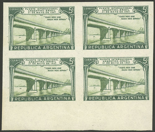 Lot 392 - Argentina general issues -  Guillermo Jalil - Philatino Auction #1922 ARGENTINA: General auction with very low starts!