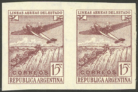 Lot 387 - Argentina general issues -  Guillermo Jalil - Philatino Auction #1922 ARGENTINA: General auction with very low starts!