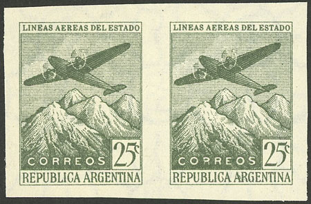 Lot 388 - Argentina general issues -  Guillermo Jalil - Philatino Auction #1922 ARGENTINA: General auction with very low starts!
