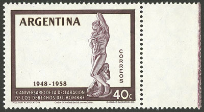 Lot 433 - Argentina general issues -  Guillermo Jalil - Philatino Auction #1922 ARGENTINA: General auction with very low starts!