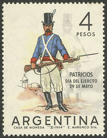 Lot 487 - Argentina general issues -  Guillermo Jalil - Philatino Auction #1922 ARGENTINA: General auction with very low starts!