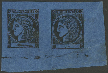 Lot 18 - Argentina corrientes -  Guillermo Jalil - Philatino Auction #1922 ARGENTINA: General auction with very low starts!