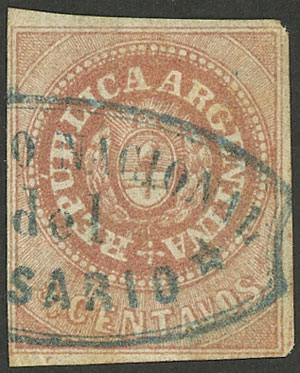 Lot 31 - Argentina escuditos -  Guillermo Jalil - Philatino Auction #1922 ARGENTINA: General auction with very low starts!